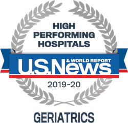 US News High Performing Hospital Geriatrics